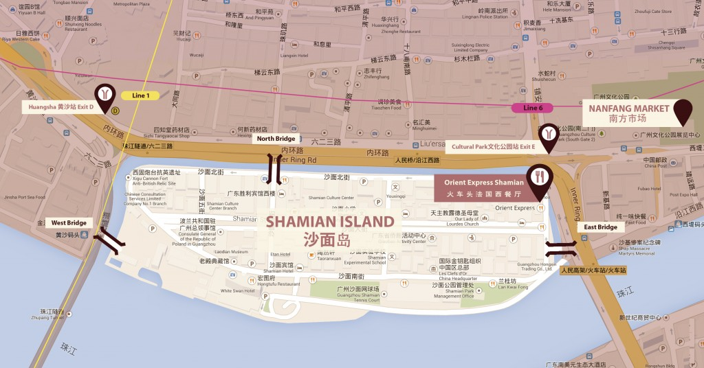 Orient_Express_French_Restaurant_Guangzhou_map